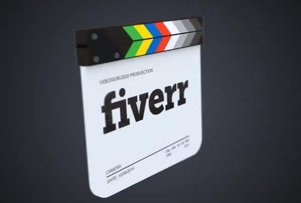 make a Creative FILM Clap Slate Logo Reveal Video