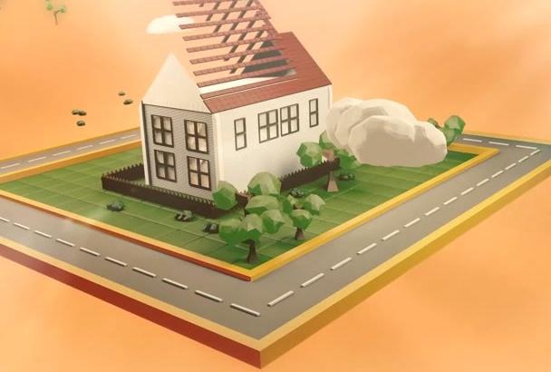 create Professional Real Estate Agency Promo