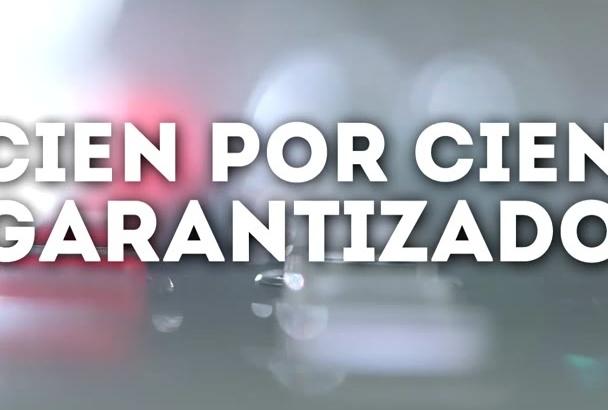 grabar hoy una LOCUCIÓN FANTABULOSA en español de España