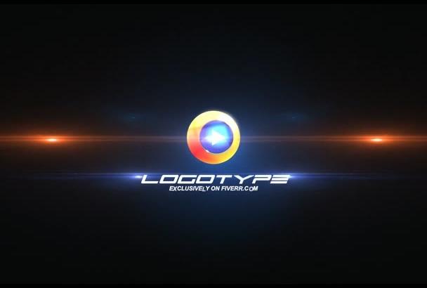 produce DYNAMIC, fast logo animation intro