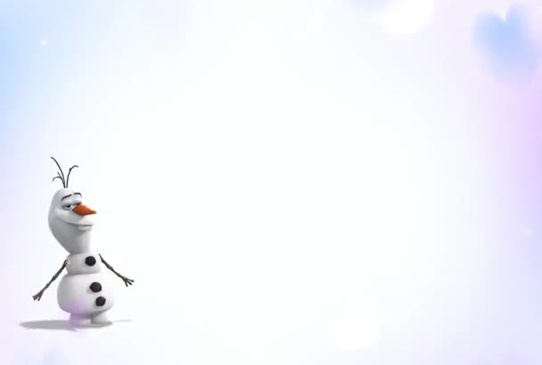 make a Christmas Video with Funny Olaf