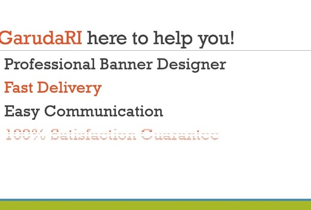 create AMAZING banner for your product