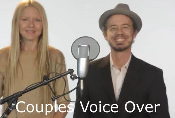 a PRO couples voice over