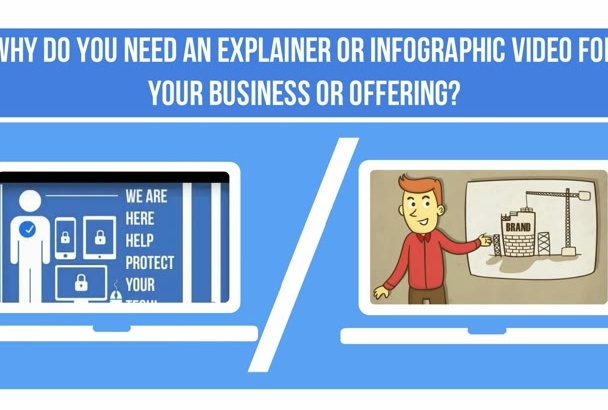 make an INFOGRAPHIC video