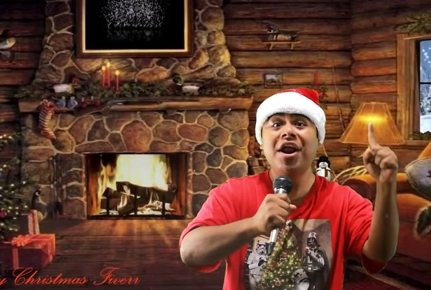 perform your Christmas song