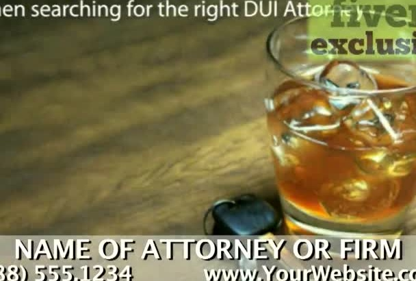 personalize a video for a DUI Lawyer