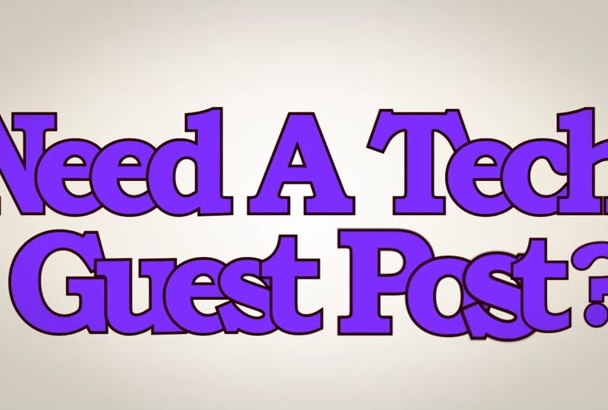 give you a guest post on PR 6 Tech blog