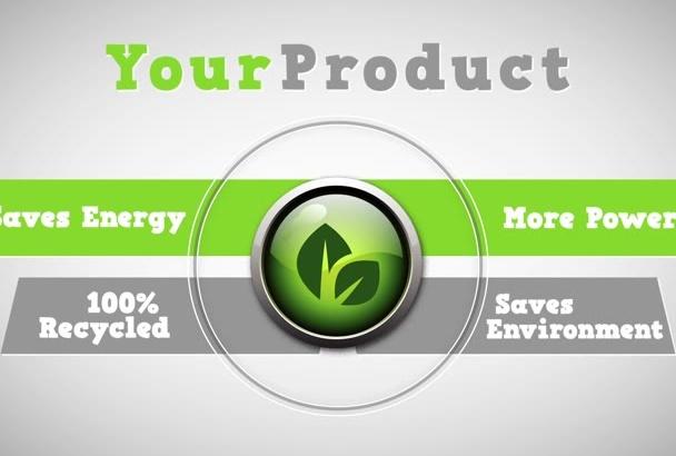 create Product Promo Intro Video