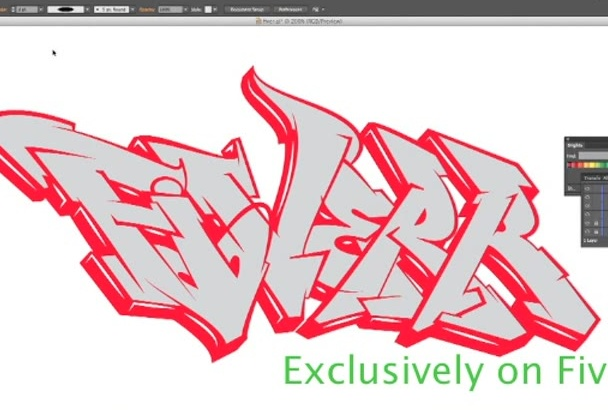design your name in my graffiti style