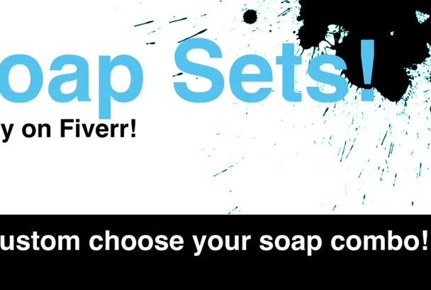 send a custom fresh handmade soap gift