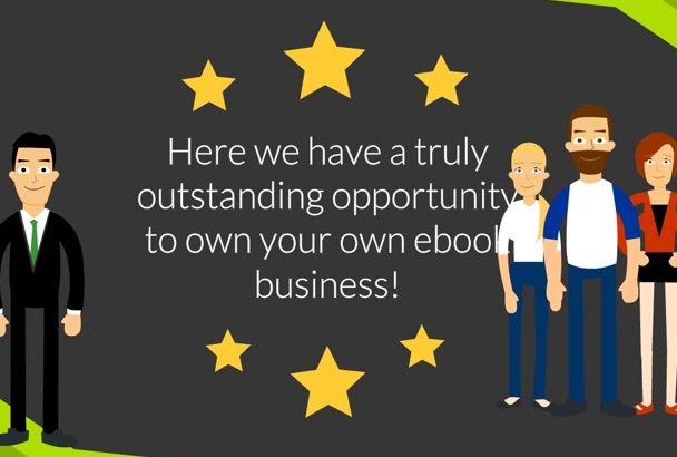 provide an ebook business with full resale rights