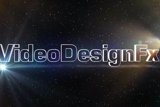make this cool logo intro