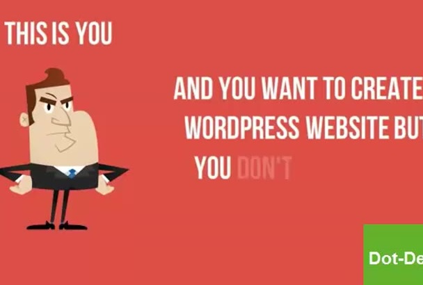 install wordpress setup themes and plugins within 24hrs