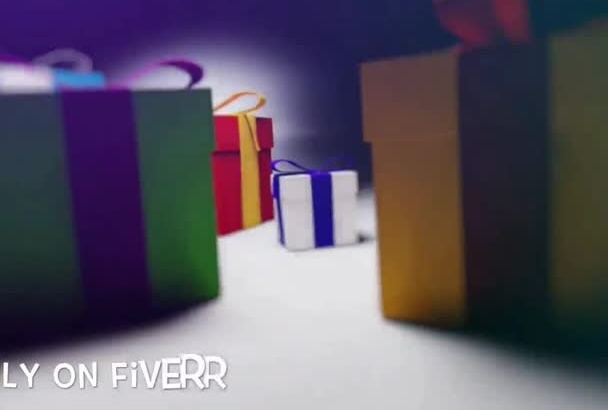 create this nice personal birthday present video