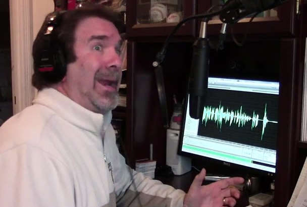 record a 60 second professional voice over or narration