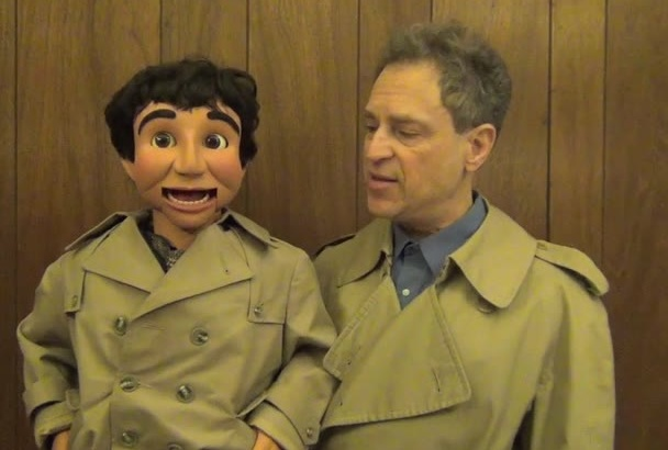 make a ventriloquist detective message video