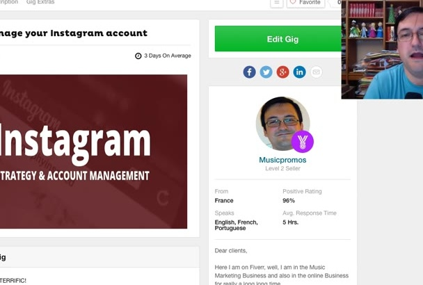 manage your Instagram account