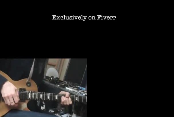 record a high quality electric guitar part for your song