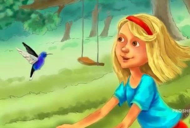 draw a children illustration