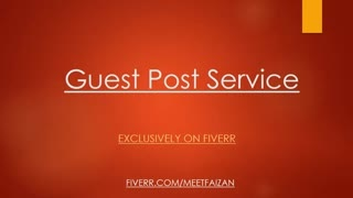 publish 1 guest post on Education related blog