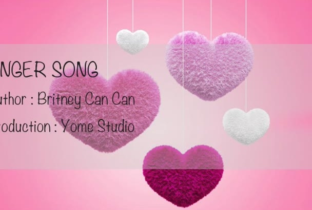sing well, i hope my voice can make you feel relax