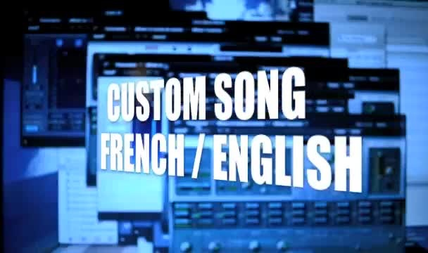 create and record a CUSTOM song, french or english