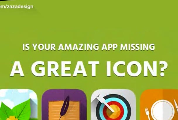 design IOS or Android flat icon