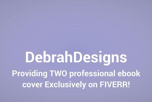 design FOUR creative Ebook cover Under 8 hours