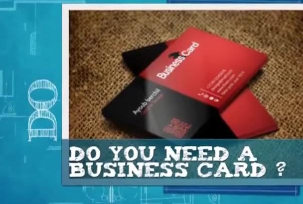 design 2 professional business card