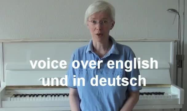record a german or english voice over