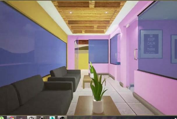 create interior visualization in unreal engine 4