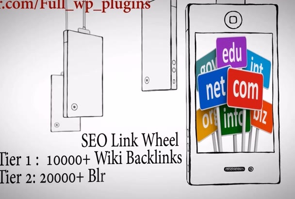 build 10000 wiki links, 20000 Comment backIinks for extreme SEO Rankings