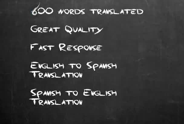 translate any document, article or text into Spanish