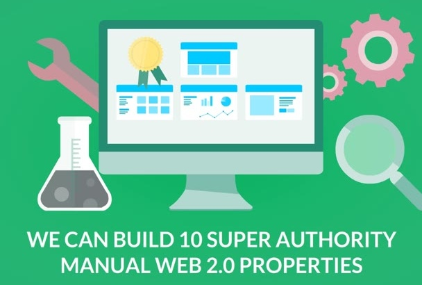 build 10 Super Authority manual web 2,0 properties