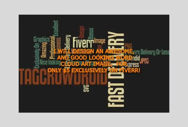design An Awesome Good Looking Wordcloud Art