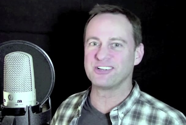 record your male English voiceover