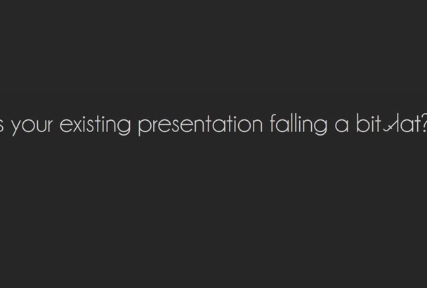 create an awesome PowerPoint presentation