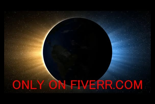 produce and Render This HIGH Resolution [Eclipse] Video promoting your business, website, service or whatever your like within 24 hours