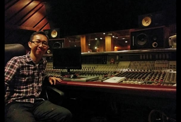 record a PRO Asian male voiceover