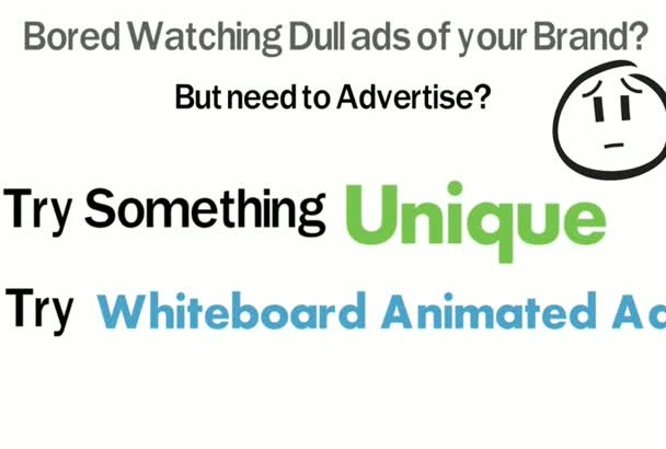 make Whiteboard Animated Video