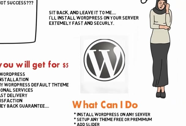 install WordPress EXTREMELY Fast on any Server