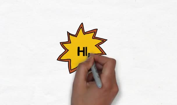 create a whiteboard animation drawing your logo and writing a phrase