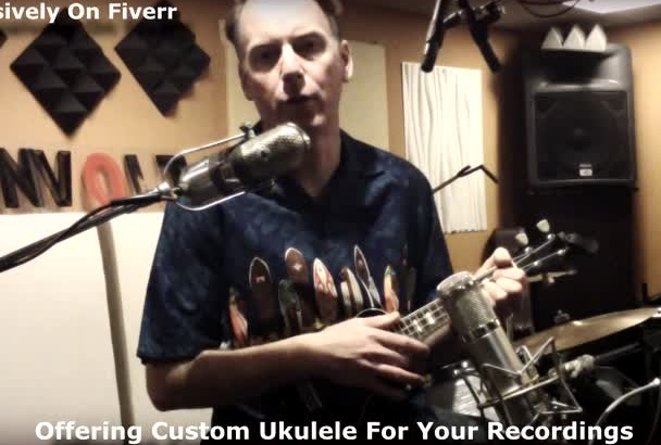 play ukulele on your song