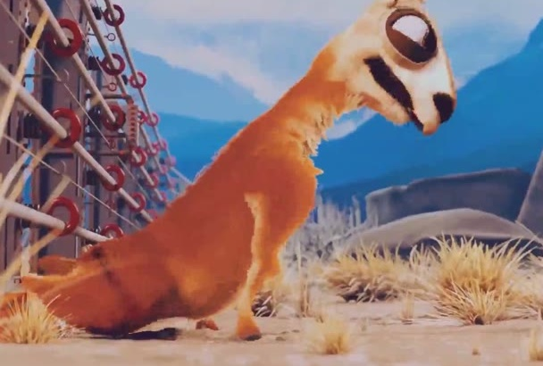 create a Funny Camel animation intro