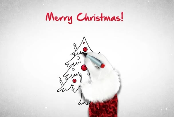 make cute CHRISTMAS Video Greetings 4 versions available