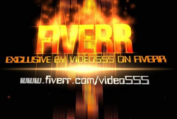 create AMAZING Video Intro 02