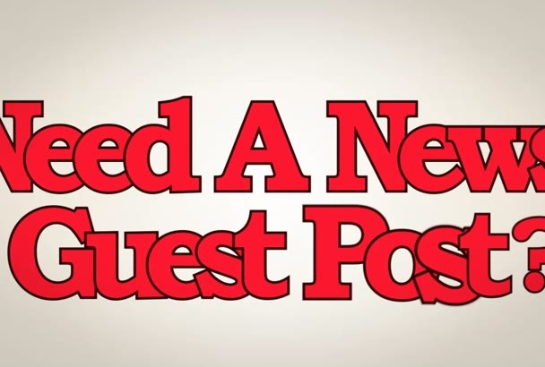 guest post on PR 5 News blog with content link