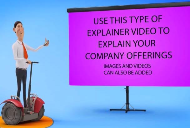 make Amazing 3D Advertising Marketing Video