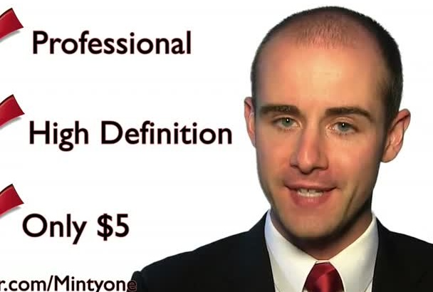 be your professional spokesperson
