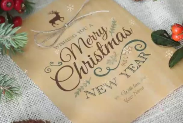 design your own Christmas Card